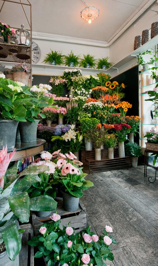 blomsterhandler hellerup